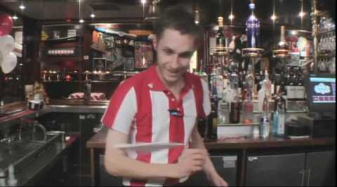 Restaurant TGI Friday's: Barman tricks