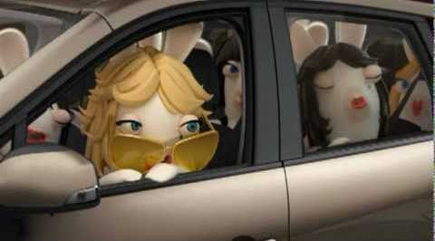 Renault Grand Scenic: Rabbids are testing interior space